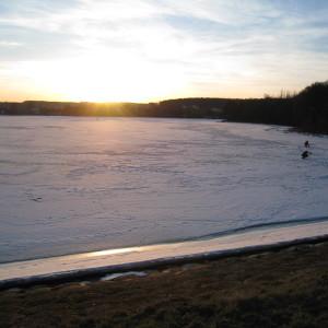 Zimowy krajobraz urzeka urodą