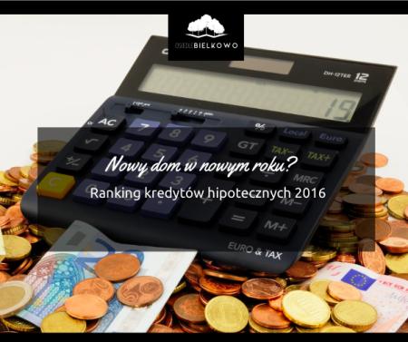Nowy dom w Nowym Roku? Sprawdź ranking kredytów hipotecznych na styczeń 2016.